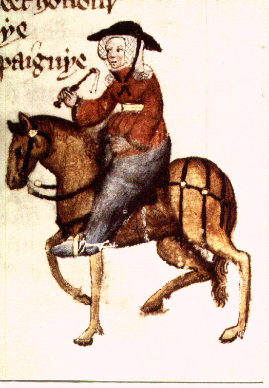 the resemblances in the wife of baths prologue and the canterbury tales
